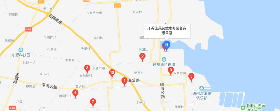 江苏诺莱智慧水务装备有限公司官方地图
